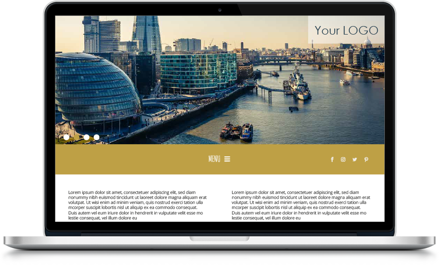 ITC Website Template B
